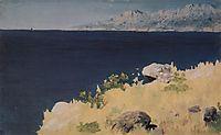 Sea coast. Crimea, c.1890, kuindzhi