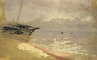 Sea. Gloomy Day, c.1878, kuindzhi