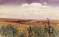 Steppe , 1875, kuindzhi