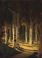 Sunlight in the park, c.1908, kuindzhi
