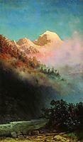 Sunrise, c.1895, kuindzhi