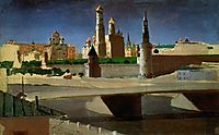View of the Kremlin from the Zamoskvorechye District, 1882, kuindzhi