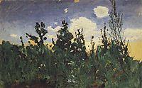 Wild grass, 1875, kuindzhi