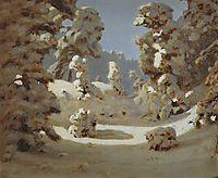 Winter. Sunlight on The Hoar Frost , c.1890, kuindzhi