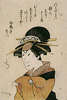 The Actor in Female Role, kunisada