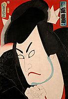 Hinasuke Arashi as Goemon Ishikawa, kunisada