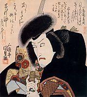 Ichikawa Danjuro VII as Iga-no Jutaro, 1823, kunisada