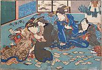 Playing Cards, c.1835, kunisada