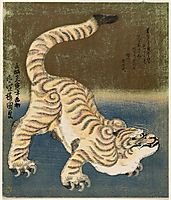Tiger, 1830, kunisada