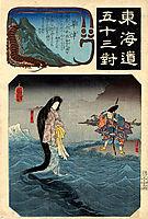 The Dragon Princess, kuniyoshi