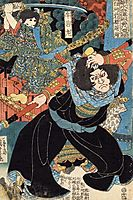 Eight Hundred Heroes of Our Country, kuniyoshi