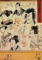 Faces, kuniyoshi
