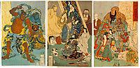 The Famous Unrivalled Hidari Jingoro, kuniyoshi