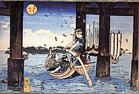 Ferryman, kuniyoshi