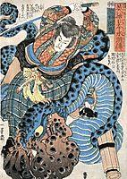 From Suikoden of Japanese Heroes, kuniyoshi