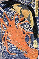 Lobster, kuniyoshi