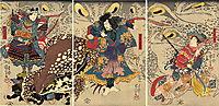 The Magic Toads, kuniyoshi