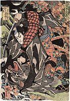 Miyamoto Musashi, Edo period, kuniyoshi