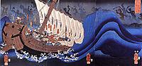 Taira ghost, kuniyoshi