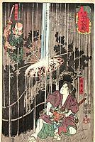 Thirty-six Famous Battles, 1848, kuniyoshi