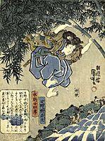 Twenty four Paragons of Filial Piety of Our Country, kuniyoshi