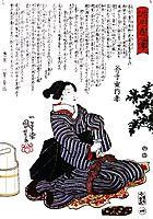 Woman, kuniyoshi