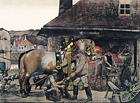 The Farrier, c.1900, kurzweil