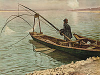 The fisherman, c.1900, kurzweil