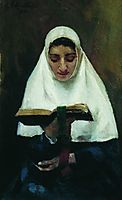 Abbess, 1901, kustodiev