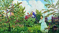 Apple Orchard, 1918, kustodiev