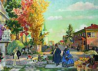 Autumn festivities, 1922, kustodiev