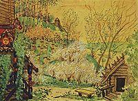 Berendeevka, 1919, kustodiev