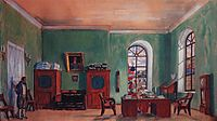 The Cabinet of Furnachev, 1917, kustodiev