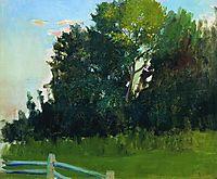 Dunka-s Grove. In the estate of Polenovs, 1909, kustodiev