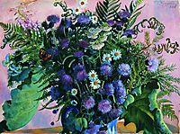 Finland bouquet, 1917, kustodiev