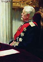 General of Infantry Christopher Roop, 1902, kustodiev