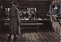 Illustration for , 1908, kustodiev
