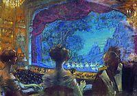 In the box, 1912, kustodiev