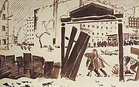 Petrograd in 1919, 1919, kustodiev