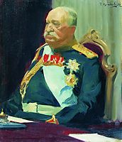 Portrait of Count N.P. Ignatieff, 1902, kustodiev