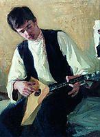 Portrait of I.S. Kulikov, kustodiev