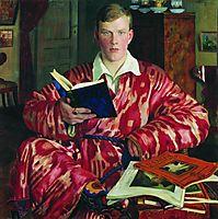 Portrait of K.B. Kustodiev, 1922, kustodiev
