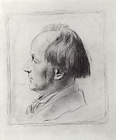 Portrait of V. Zamirailo, 1922, kustodiev