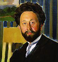 Portrait of Vasily Kastalsky, kustodiev