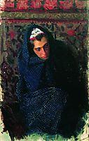 Portrait of a Woman, kustodiev
