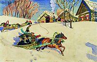 Shrovetide, 1920, kustodiev