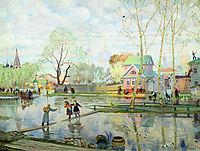 Spring, 1921, kustodiev
