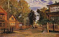Staraya Russa, 1921, kustodiev