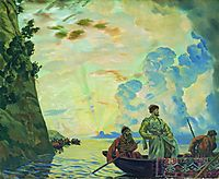 Stepan Razin, 1918, kustodiev