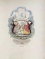 Title page, 1921, kustodiev